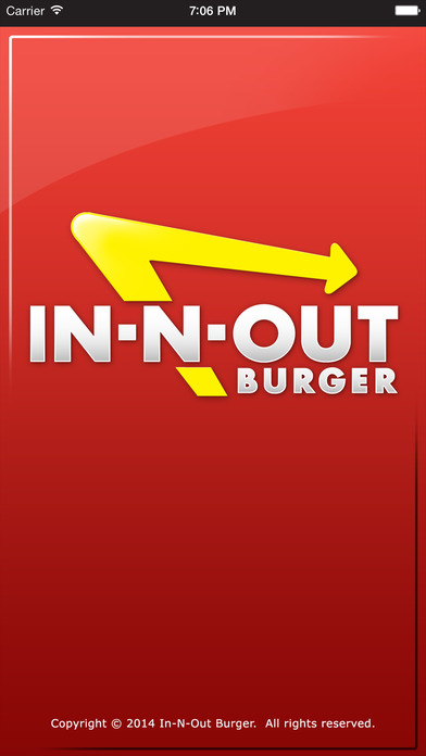 In-N-Out iPhone Screenshot 1