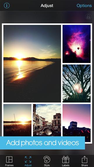 《拼图软件 :PicFrame [iOS]》