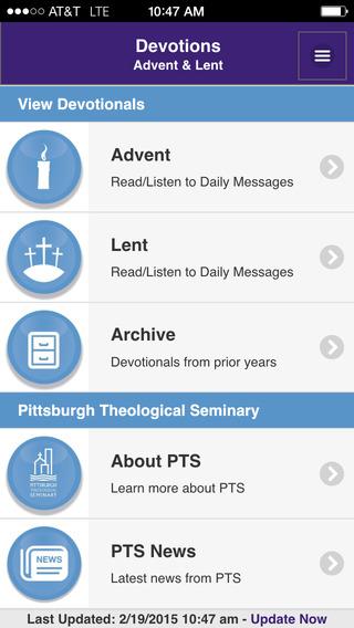 Devotions - Advent Lent