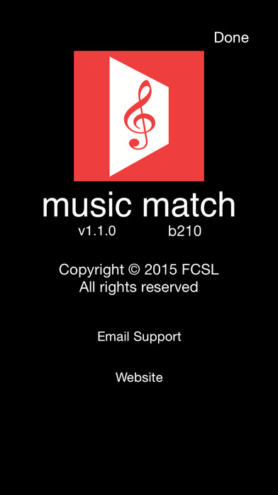 music match iPhone Screenshot 5