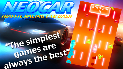 NEOCAR Traffic Racing Car Dash a neon puzzle action game
