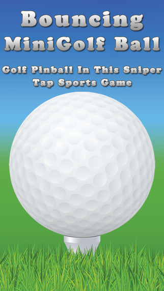 Bouncing MiniGolf Ball - Golf Pinball In This Sniper Tap Sports Game Pro
