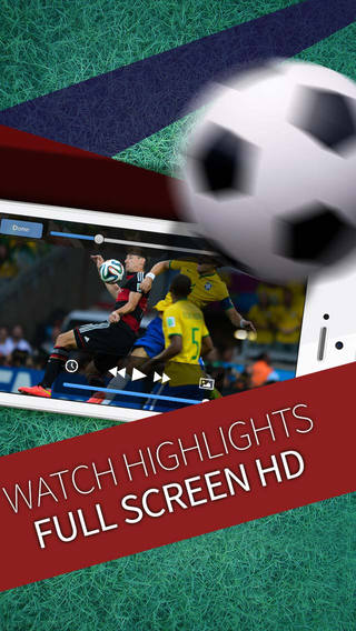 Football Widget: Watch newest highlights videos football - soccer in HD quality