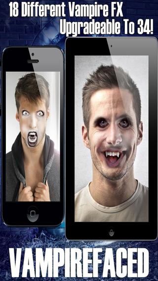 VampireFaced - The Vampire FX Face Booth Generator