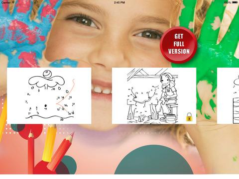 Раскраски и рисование по точкам