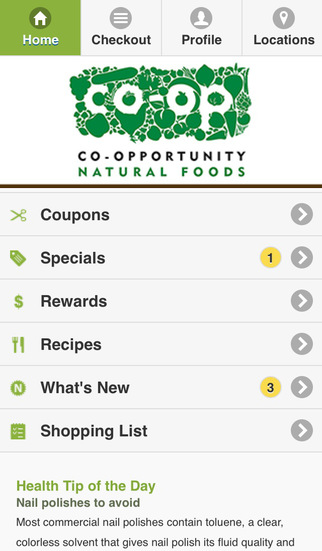 Co-opportunity Natural Foods
