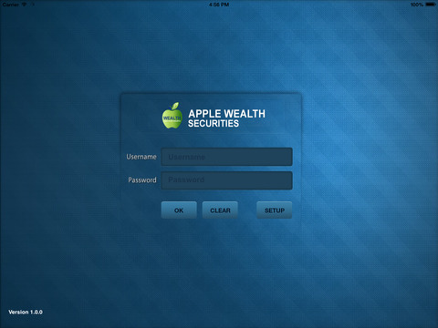 Apple Wealth HD Trade for iPad