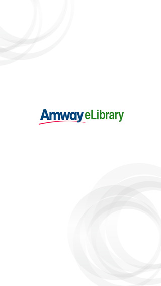 Amway eLibrary iPhone version