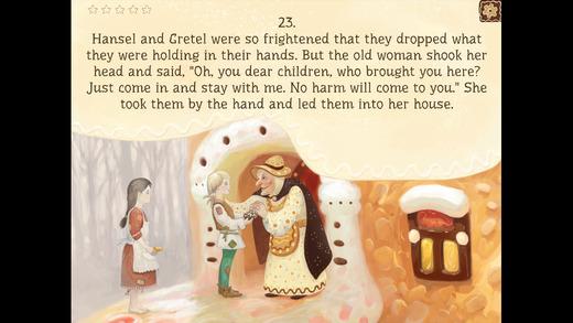 Child development Hansel and Gretel fairy tale book