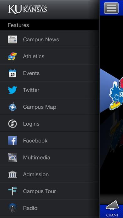 University of Kansas iPhone Screenshot 3