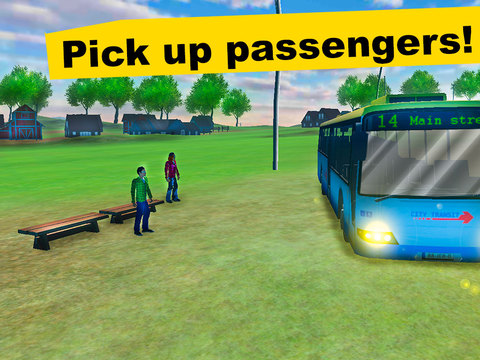 Country Bus Simulator 3D screenshot 6