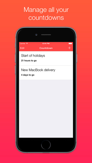 Countdown Timer App 2