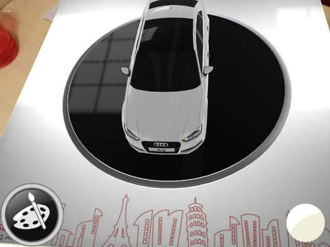 Audi A3 Augmented Reality