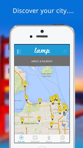 Lamp San Francisco Audio Tours