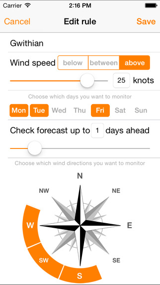 WindPush Screenshots