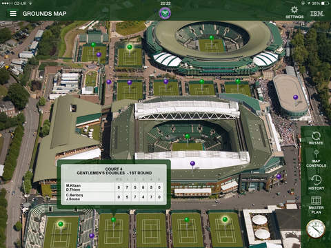 The Championships, Wimbledon 2015 - Grand Slam Tennis screenshot 1