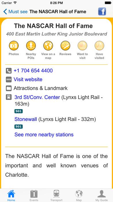 Charlotte Travel Guide Offline iPhone Screenshot 3
