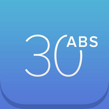 30 Day Abs Challenge LOGO-APP點子
