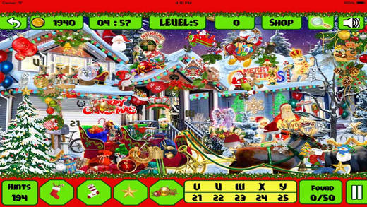 Christmas Mystery Hidden Objects
