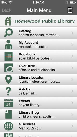 Homewood Public Library AL