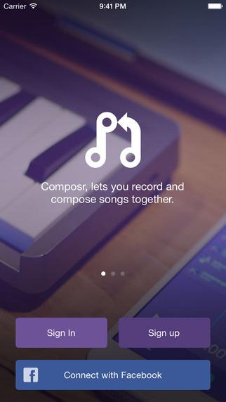 Composr record songs socially