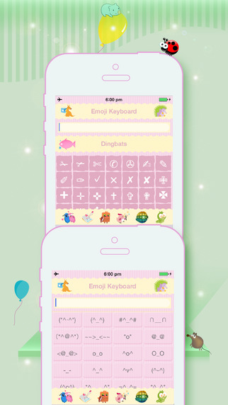 Emoji Keyboard - Symbol and Character Smiley Sticker Emoticon Art for Texting