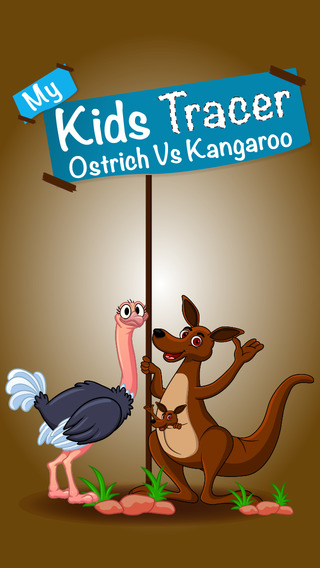 My Kids Tracer – Ostrich Vs Kangaroo