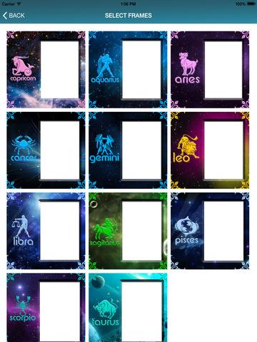 玩免費攝影APP|下載Zodiac Signs Photo Frames app不用錢|硬是要APP