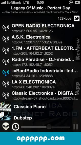 Electronica - Internet Radio