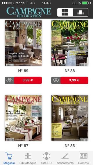 Campagne Décoration Magazine