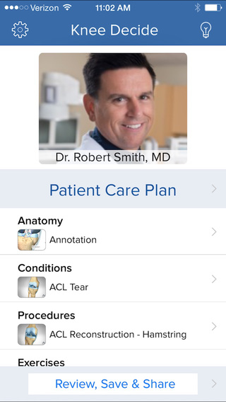 Knee Decide - Patient Engagement Tools for Healthcare Providers