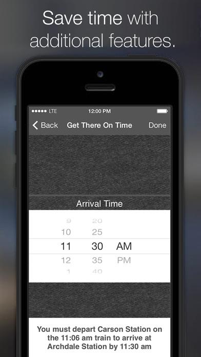 CLT Light Rail iPhone Screenshot 5