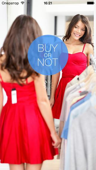 BuyOrNot - твой помощник в шопинге