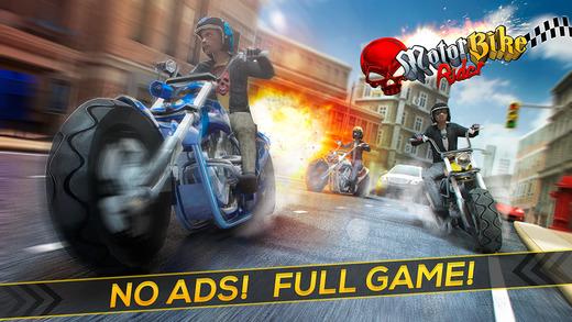 Motor Bike Rider . Motorcycle Racing Highway Simulator Game Pro
