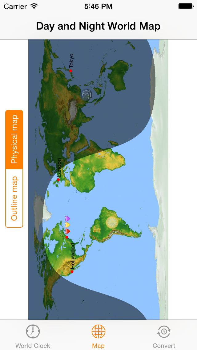 My Time Zones Widget World Clock Map Time Zones Converter Apprecs