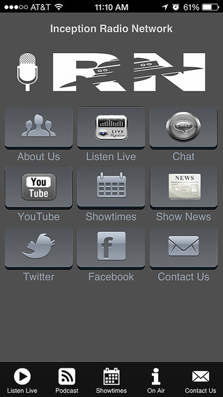 Inception Radio Network Mobile