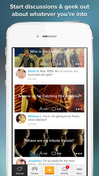 District Chat for Hunger Games Mockingjay Fans