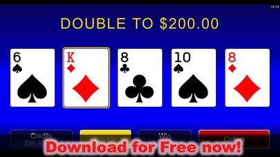 Screenshot 2 Популярные Казино Карточная игра — Валеты или лучше покер — Microgaming
