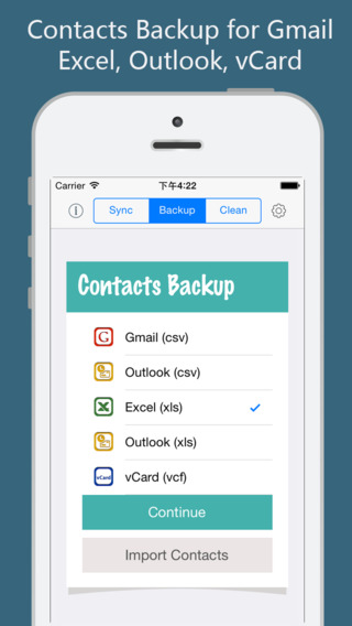 Contacts Sync, Backup, Clean for iCloud, Google+