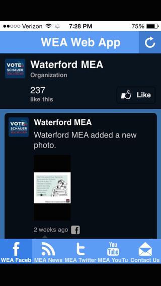 WEA Web App