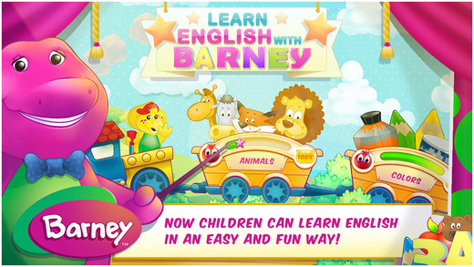 Learn English With Barney