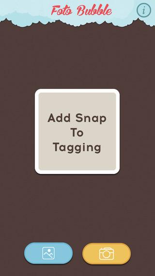 Foto Bubble - A unique photo tagging app..