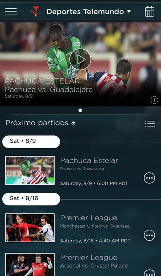 【免費運動App】Deportes Telemundo En Vivo Extra-APP點子