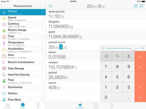 The Converter iPad Screenshot 2