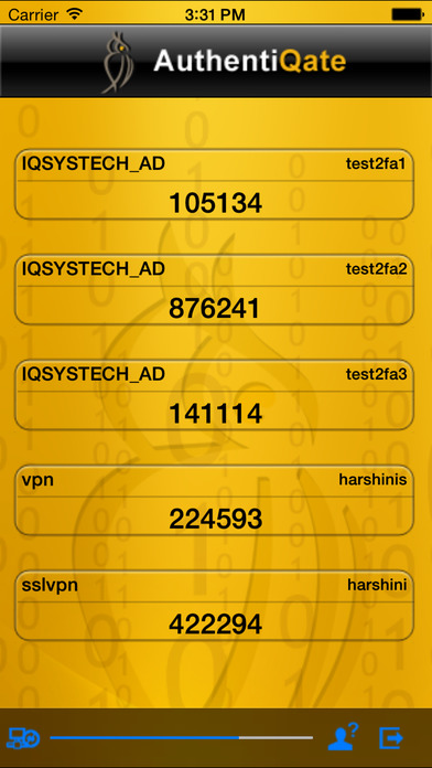 AuthentiQate iPhone Screenshot 3