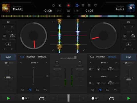 djay Pro iPad 上的 DJ 应用[iPad] ¥128丨反斗软件值得买