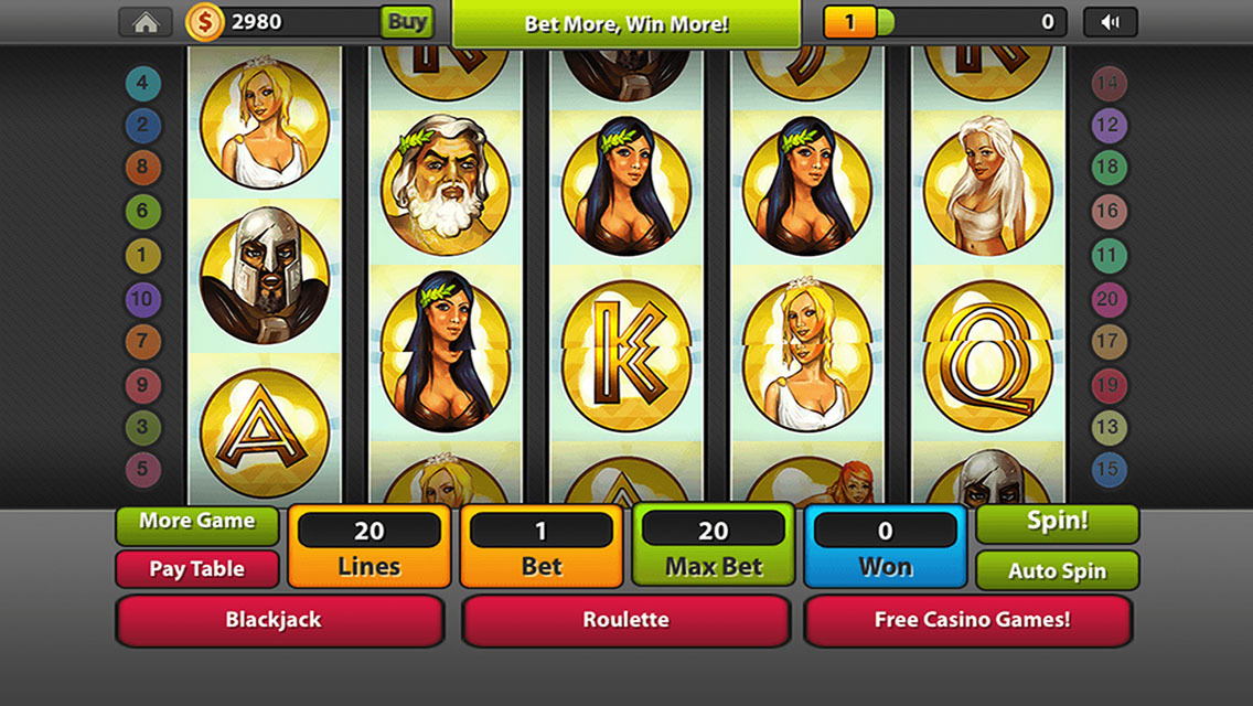 Reels of Olympus Slots - Free to Play Demo Version