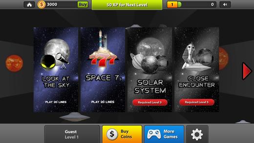 Adventure Space Slots