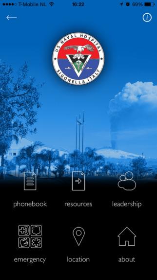 USNH Sigonella Official App