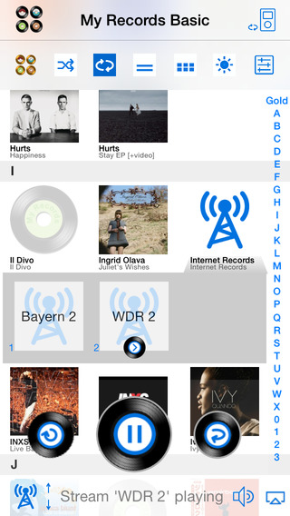 My Records Basic - Music Player Playlist Manager
